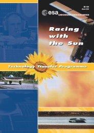 Racing with the Sun Racing with the Sun - Esa