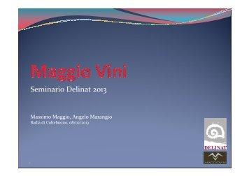 Presentazione Maggio Vini - Dc.delinat-institut.org