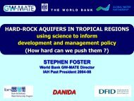 Hard-Rock Aquifers In Tropical Regions - Igcp-grownet.org