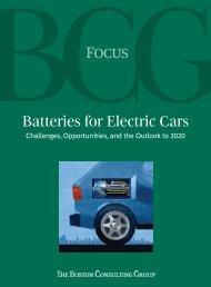 Batteries for Electric Cars - Electric Drive Transportation Association