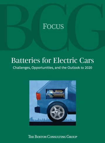 Batteries for Electric Cars - Electric Drive Transportation Association
