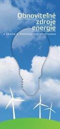 Leták Obnoviteľné zdroje energie a zákon na ... - Za matku Zem