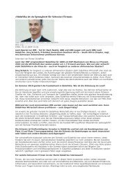 «Südafrika ist ein Sprungbrett für Schweizer Firmen» - scsa.ch