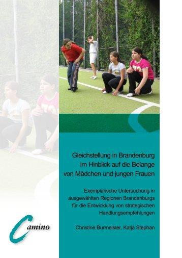 Gleichstellung in Brandenburg im Hinblick auf die Belange von ...