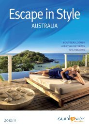 Escape In Style - Sunlover Holidays