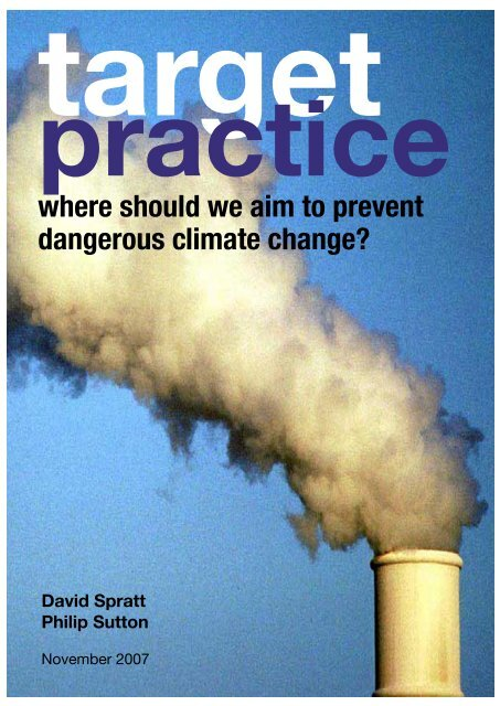 where should we aim to prevent dangerous climate change?