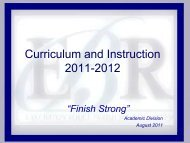 East Baton Rouge Parish School System Better Schools. Better ...