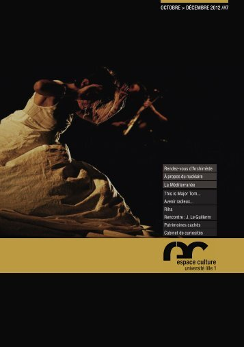 OctObre > décembre 2012 - Espace culture de l'université de Lille 1