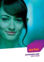 JAHRESBILANZ 2007-2008 - Arte