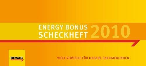 das energy bonus scheckheft - Energie Burgenland