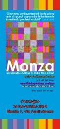 Convegno 26 Novembre 2010 Binario 7, Via Turati ... - Centro COME