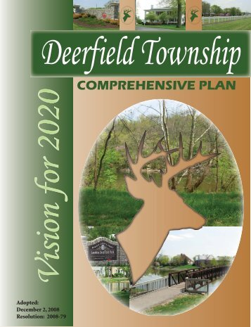 Comprehensive Plan - Deerfield Township, Ohio