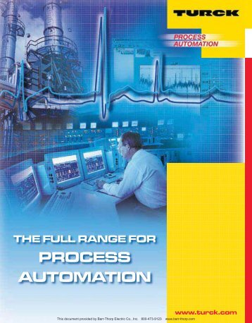 PROCESS AUTOMATION - Barr-Thorp Electric