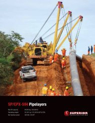 SP/CPX-594 Pipelayers - Worldwide Machinery
