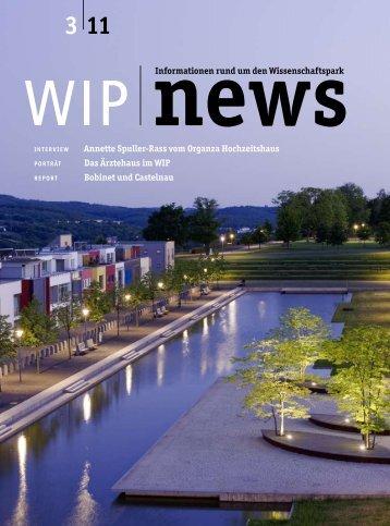 Ausgabe 3 - wip – wissenschaftspark trier