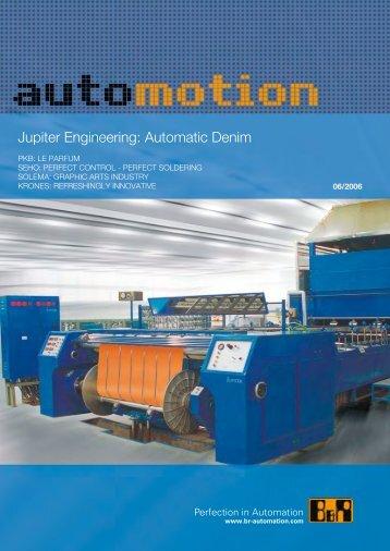 Jupiter Engineering: Automatic Denim - automotion