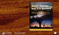 Native Nations and US Borders - Native Nations Institute - University ...