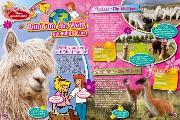 Guanakos – Die Wilden Alpakas – Die Wolligen - bei KIDDINX.de