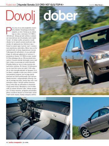 Test Sonata-Kia.qxd - Avto Magazin