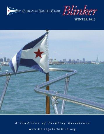 WINTER 2013 - Chicago Yacht Club