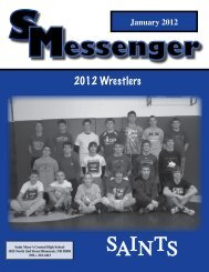 2012 Wrestlers - St. Mary's Central High School