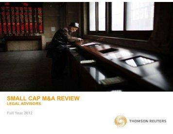 SMALL CAP M&A REVIEW - Raidla Lejins & Norcous