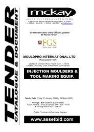 MOULDPRO INTERNATIONAL LTD