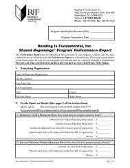 RIF6c_Performance Report.qxd - Reading Is Fundamental