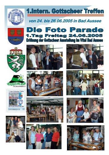 von 24. bis 26.06.2005 in Bad Aussee - gottscheer-gedenkstaette.at