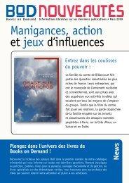 Manigances, action et jeux d'influences - Books on Demand