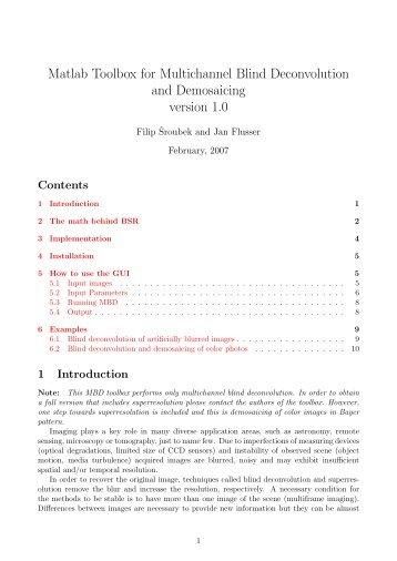 matlab optimization toolbox tutorial pdf