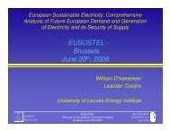 Conclusions - Eusustel.be