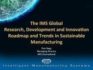 IMS RDI Roadmap -Dan Nagy - Singapore Institute of Manufacturing ...