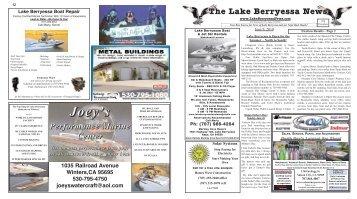 6/09/10 - Lake Berryessa e-News