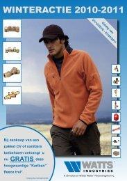 download hier de winteractie folder - Watts Industries Netherlands B.V.