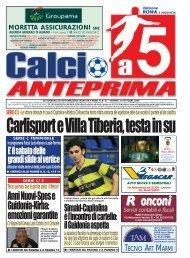 calcio a 5 anteprima 37/09 R
