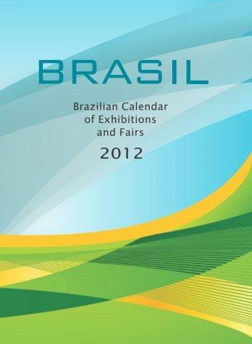 Brazilian Calendar of Exhibitions and Fairs 2012 - BrasilGlobalNet