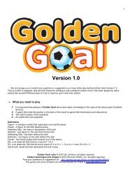 Golden Goal - Mega Miniatures