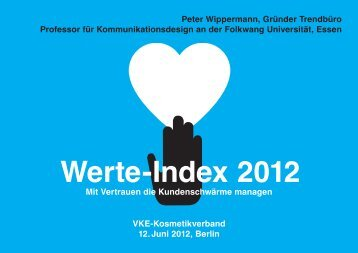 Werte-Index 2012 - VKE