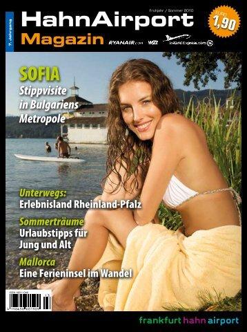 HahnAirport Sofia - HahnAirport Magazin