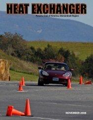 NOVEMBER 2008 - Shenandoah Region Porsche Club of America