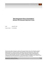 Development Documentation - B&R