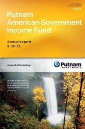 September - Putnam Investments