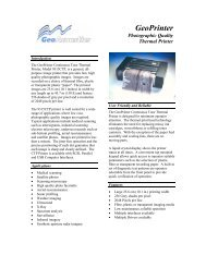 Specifications - GSE Rentals