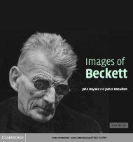 Images of Beckett - Index of