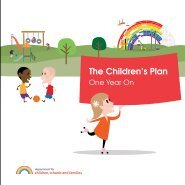 The Children's Plan - Partnership for Young London