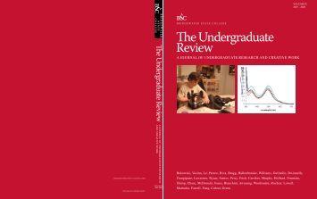 The Undergraduate Review - Bridgewater State University