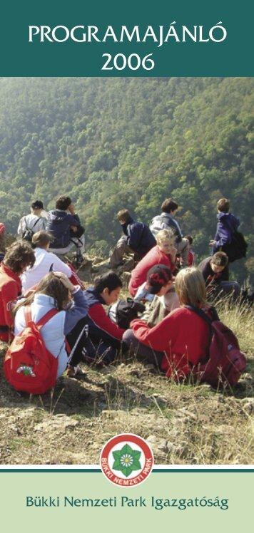 Teljesen összerakva.indd - Bükki Nemzeti Park