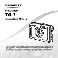 Instruction Manual TG-1 - Olympus
