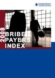 Bribe Payers Index (BPI) 2008 - Transparency International